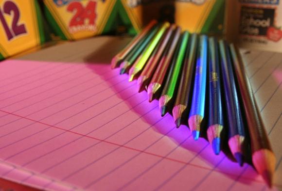notebook pencils