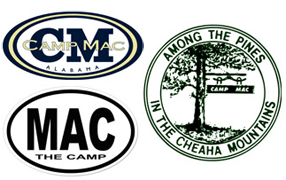 Free Camp Mac Stickers
