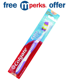 Free Colgate Extra Clean Toothbrush at Meijer