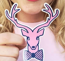 Free Jadelynn Brooke Signature Happy Sticker