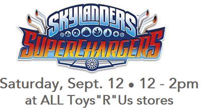 Free Skylanders Superchargers Event and FREE Poster at Toys R Us on 9/12
