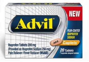Free Advil Film-Coated Sample