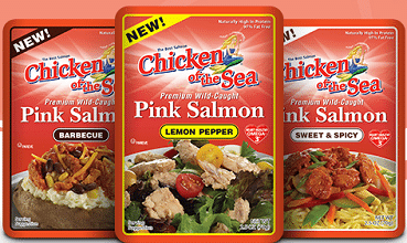 Free Chicken of the Sea Flavored Salmon Coupon on 10/8