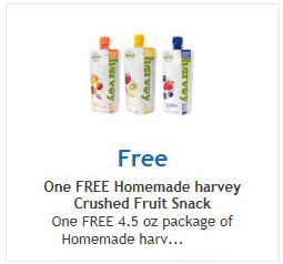 Free Homemade Harvey Crushed Fruit Snack at Ralphs