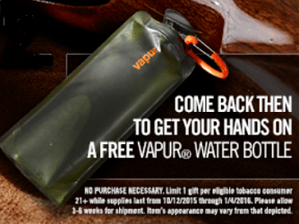 Free Vapur Water Bottle From Copenhagen