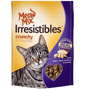 Free Meow Mix Irresistibles Cat Treats at Kroger on 10/16