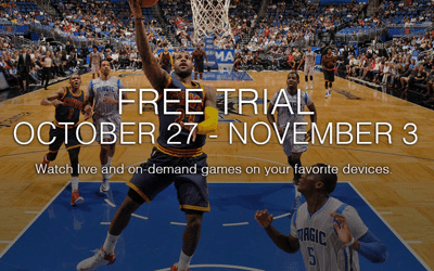 Free 1 Week Trial of NBA LEAGUE PASS