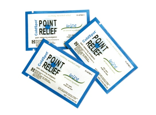 FREE Point Relief ColdSpot Therapy Pain Reliever Sample from FEI