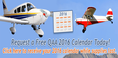Free 2016 Quality Aircraft Accessories Calendar
