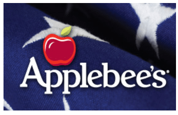 Free Entree at Applebee's For Veterans and Military on 11/11/15