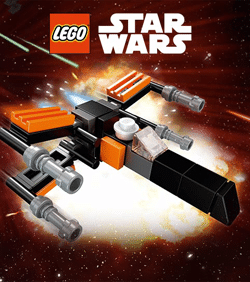 Free Mini LEGO Star Wars X-Wing Starfighter at Toys R Us Today