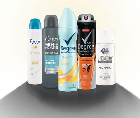 FREE Dove, Degree, or Axe Dry Spray Deodorants from Walmart (US Only)