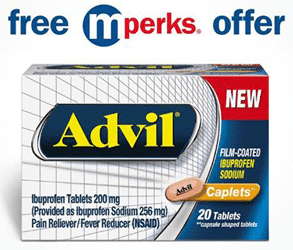 FREE Advil Film Coated Caplets (20ct) Through December 10th (Meijer Stores Only)