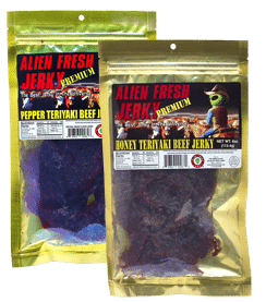 STILL ACTIVE: FREE Alien Fresh Jerky Sample