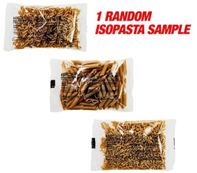 Free IsoPasta Sample Pack
