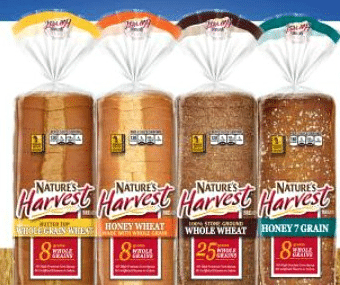 Free Nature's Harvest Sandwich Bread at Kroger on 1/1/16