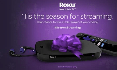 Roku Holiday Sweepstakes Giveaway
