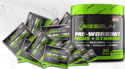 Free Sizeslim Workout Supplement Samples