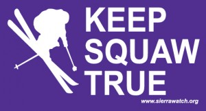 Free Skier/Snowboarder Stickers From Keep Squaw True