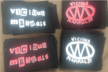 Free Vicious Mammals Stickers & Patches