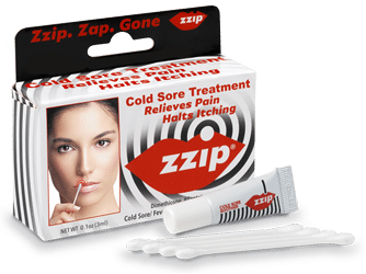 Free Zzip Cold Sore Treatment Sample
