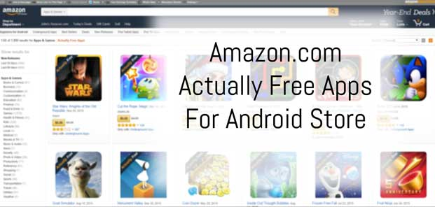 Amazon.com Actually Free Android Appstore Preview