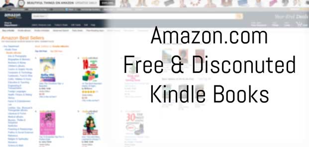 Amazon.com Top 100 Hourly Free & Discounted Kindle Offers Preview