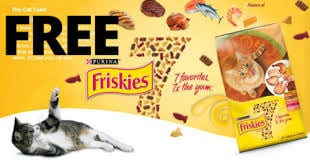 FREE Purina Friskies 7 Cat Food Sample