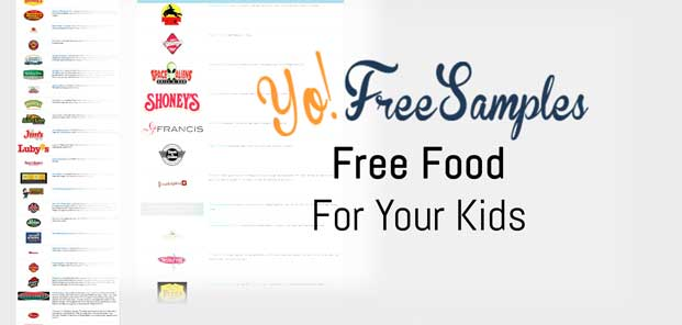 YoFreeSamples Free Food For Children Offer Collection Preview