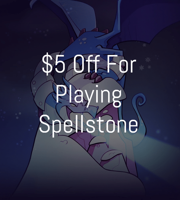 FREE $5 GameStop Coupon When You Play Spellstone On Mobile Phone (In-Store Purchase Required)
