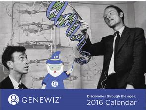 FREE 2016 GENEWIZ Calendar