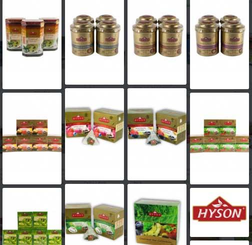 FREE Ceylon Tea Sample from Hyson Tea