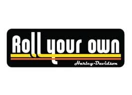 "FREE Harley-Davidson ""Roll Your Own"" Sticker"