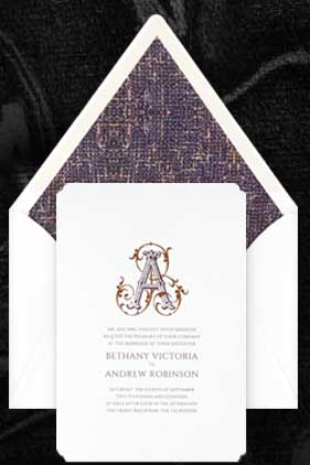 FREE Beautiful Designed Wedding Invites Pack From Brides Fine Wedding Papers
