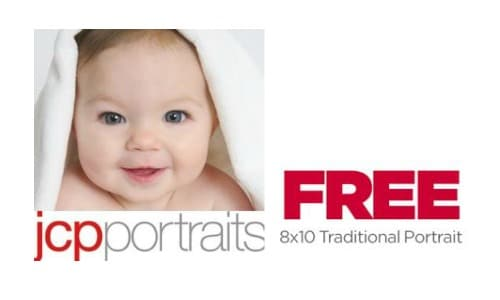 Free 8×10 Portrait from JCPenney Portraits