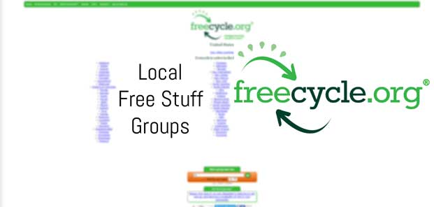 FreeCycle Network Active Local Free Stuff Groups US Directory