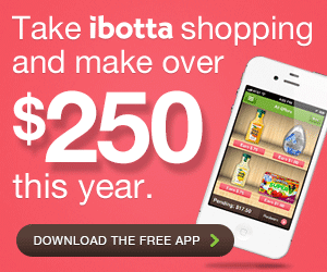PRO TIP: Make Over $250 Shopping This Year With Ibotta's Free App