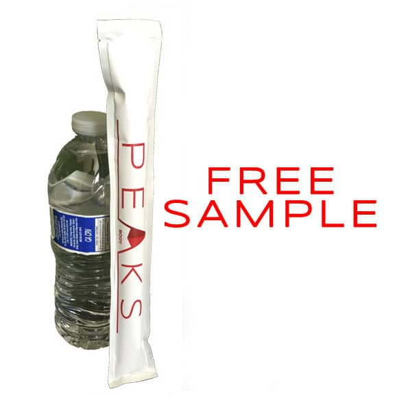 FREE Peaks Portable Protein Pouch, Any Flavor In A 30 Gram Pouch