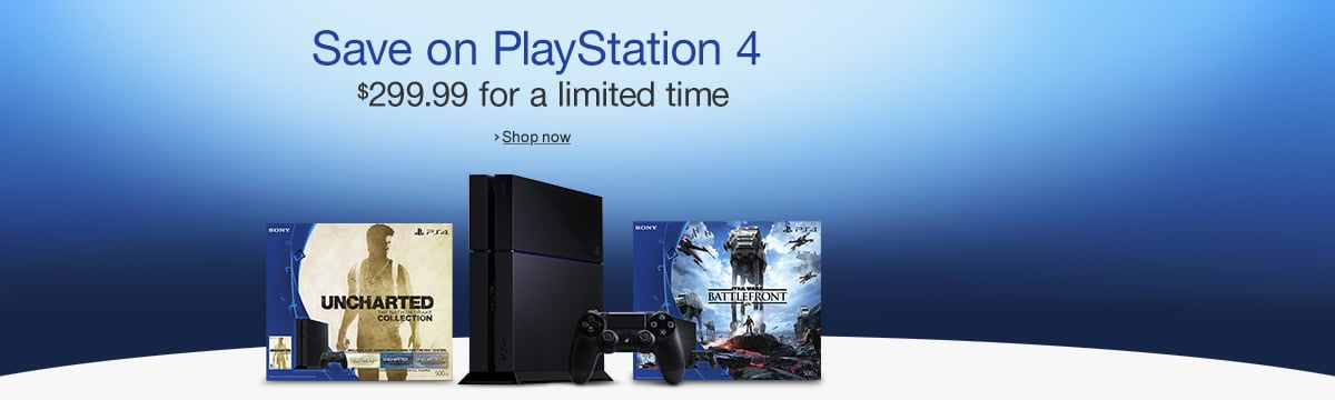 DEAL: PS4 Bundles Just $289.99-299.99 Each Starting December 6th