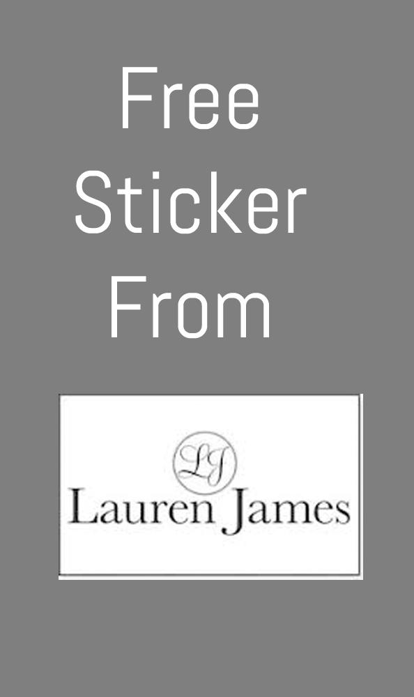 FREE Lauren James Stickers