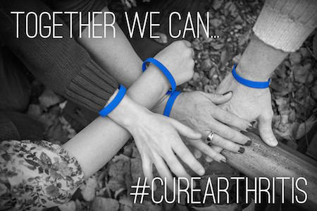 FREE #CureArthritis Bracelet From Arthritis Research Foundation