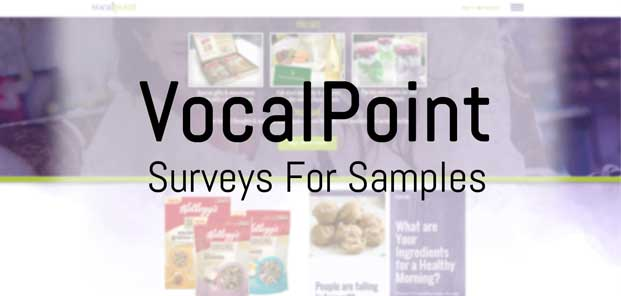 VocalPoint Full-Sized Product Samples In Exchange For Surveys Program Preview