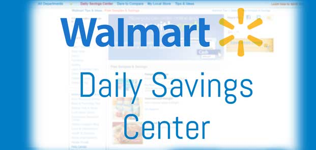 Walmart Free Samples & Daily Savings Center Preview
