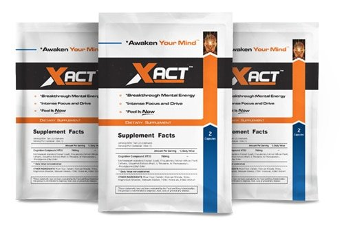 Free Xact Brain Supplement Sample Pack