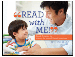 "FREE 2016 ""Read with Me!"" Calendar"