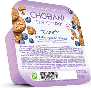 Free Chobani Simply 100 Crunch Yogurt at Kroger Today
