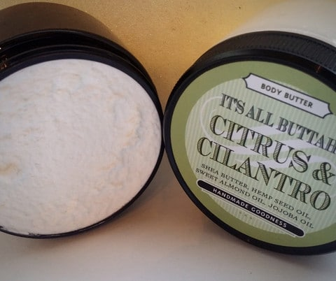 FREE It's All Buttah Citrus and Cilantro Body Butter Sample