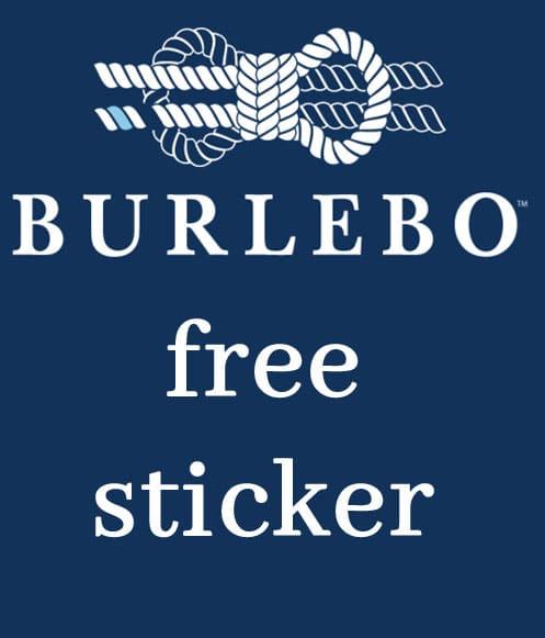 FREE Cool Burlebo Sticker