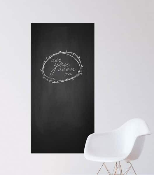 FREE 3″x3″ Chalkboard Wall Decor Decal