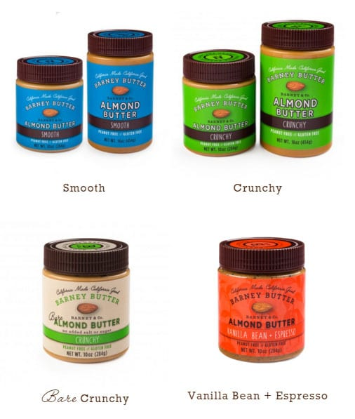 FREE Barney Butter Smooth, Crunchy Almond Butter Sample (Email Required)